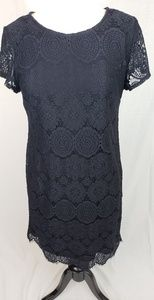 Laundry By Shelli Segal Dresses - NWT Laundry by Shelli Segal Black Lace Dress Sz12